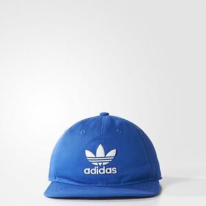 cef4f495 Image is loading New-Mens-Adidas-Originals-Blue-White-Trefoil-Cotton-