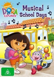 Dora-The-Explorer-Musical-School-Days-DVD-2009-R4-Terrific-Condition