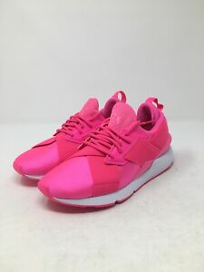 Puma Womens Pink Muse Satin Shoes Size