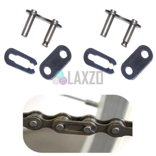 2 x Chain Link Split Connecting Chain Bike Bicycle Single Speed Bmx 1//2 x 1//8