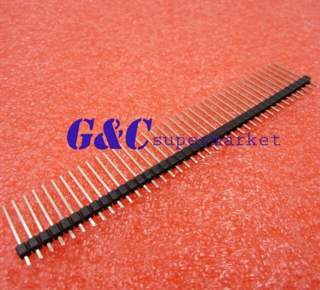 5Pcs 1X40 40Pin 2.54MM 19Mm Long Single Row Male Breakable Pin Header un