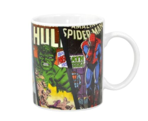 OFFICIAL MARVEL COMICS CHARACTER CERAMIC COFFEE MUG CUP NEW /& GIFT BOXED