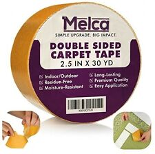Melca DS-CT Double Sided Tape For Carpet/Rug, Heavy Duty Sticky Adhesive, And