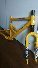 Vintage cannondale jekyll full suspension frame and fork 16""