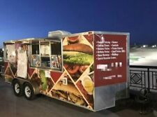 2012 8 X 18 Food Concession Trailer Ready To Work Mobile Kitchen For Sale