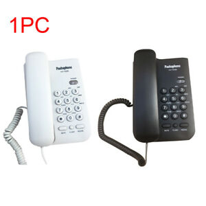 Hotel-Caller-ID-Home-Office-Loud-Sound-Business-Corded-Telephone-Wall-Mounted