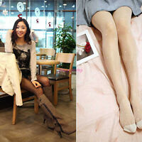 Black& White Women's Sexy Hearts Pattern Silk Stockings Socks Pantyhose Hosiery