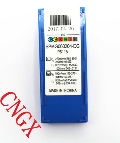 New  C25-3D17.5 -56 SP06  U drill indexable drill 10PSPMG060204-DG P6115 φ2//3/'/'