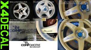 Wheel-decal-stickers-to-fit-Compomotive-Motorsport-rally-wheel-with-flag-93mm-X4