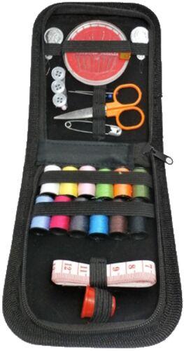 Nähset 35 piezas compañía-set en bello estuche completo de aguja e hilo nähzubehör manejable