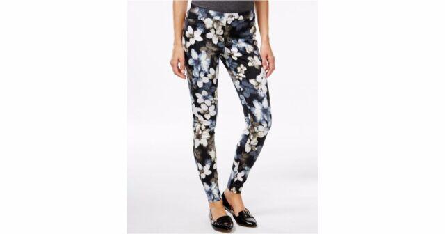 NEW  HUE Mod Floral Denim Legging U16939H