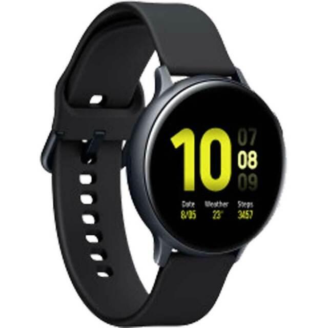 Smartwatch Samsung Galaxy Watch Active 2 R820 aqua black 44mm Versione Tedesca