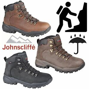 Johnscliffe-Mens-Canyon-Leather-Hiking-Boots-Boys-Hillwalking-Trail-Trek-Shoes