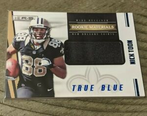 Details about 2012 Rookies and Stars True Blue #242 Nick Toon Jersey /399