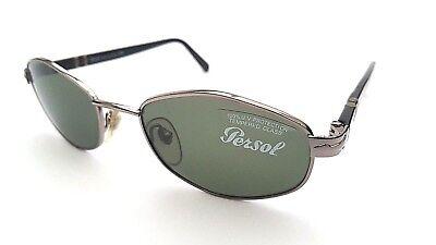 Occhiali Da Sole Persol 2062-s 587/31 Nero 100% Protezione Uv Nuovo 100% Autentico P9-mostra Il Titolo Originale Il Massimo Della Convenienza