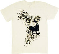 Sons Of Anarchy Samcro Open Fire Adult T-shirt - Official Motorcycle Club Jax Tv