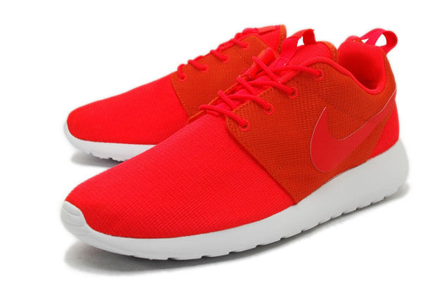 Nike Rosherun Bright Crimson Team Orange rouge running training 511881-663