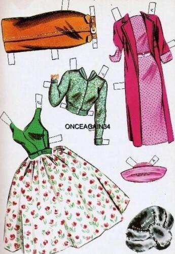 VINTAGE UNCUT 1960/'s DR KILDARE PAPER DOLLS W//NURSE SUSAN~#1 REPRODUCTION~SCARCE
