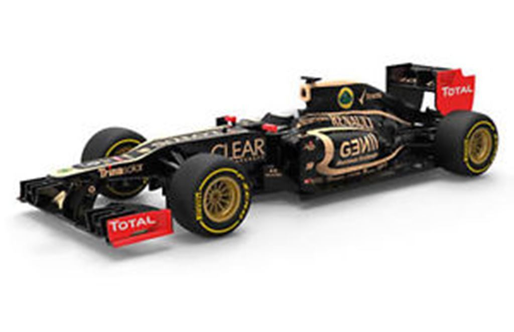 CORGI CC56401 LOTUS F1 TEAM E20 model car Kimi Raikkonen  2012 1 43rd scale