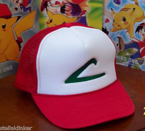 USA Seller NEW Cosplay POKEMON  Trainer Costume Ash Ketchum Hat