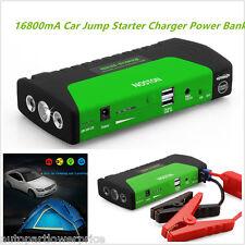 Portable 12V 16800mA SOS LED Car Jump Starter Jumper Booster Battery Power Bank