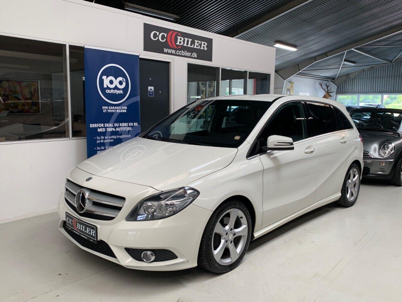 Mercedes B200 1,8 CDi BE 5d - 169.900 kr.