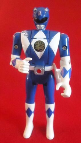 Bandai MIGHTY MORPHIN POWER RANGERS FLIP HEAD ACTION FIGURES 1993 BLUE RANGER