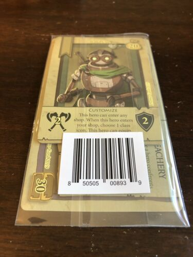 Board Game Rare Golem Bargain Quest Promo Cards Pack