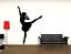 miniature 1 - Adesivo BALLERINA DANZA BALLO stickers murale decalcomania vari colori