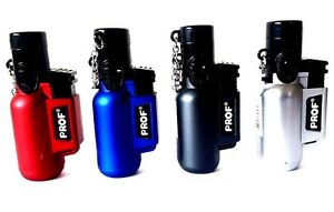 Windproof-Jet-Lighters-Prof-Adjustable-Brushed-Metal-with-Lid-Gas-Refillable