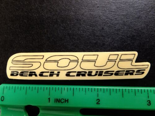 "SOUL BEACH CRUISERS 3/"" BIKE STICKER Bicycle Race DECAL EBIKE FAT TIRE RIDE RBS"
