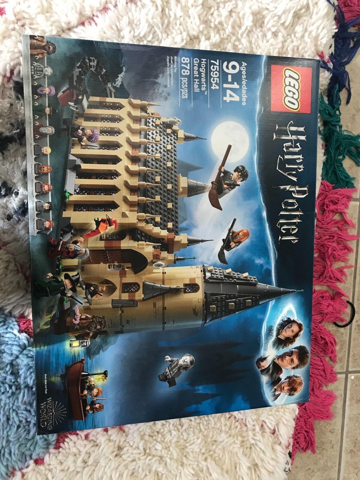 Lego Harry Potter 75954 mundo mágico de Hogwarts gran Salón Nuevo en Caja 2018