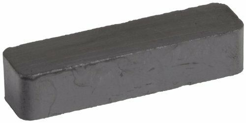 "1.875/"" Length Heavy DutyCeramicBlockMagnets,0.393/""Thick,0.400/"" Wide Pack of 2"