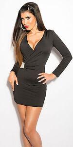 Kleid Sexy 38 Cocktailkleid Etiukleid Wow 34 Minikleid 6twq6fT