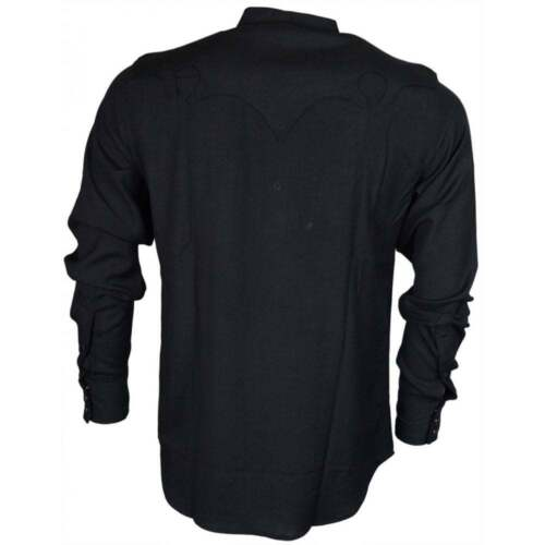 viscose r Chemise coupe noire en RZOqw5wg