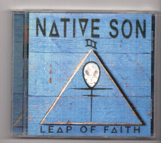 (IX941) Native Son, Leap Of Faith - 1998 CD