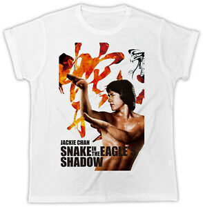 COOL-JACKIE-CHAN-MOVIE-POSTER-FASHION-MENS-UNISEX-TSHIRT-IDEAL-GIFT