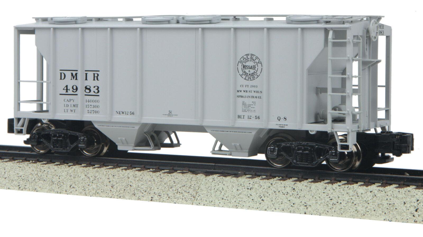 MTH S Gage PS -2 Hopper -bil Duluth Missabe & och järnRange 35 -7538