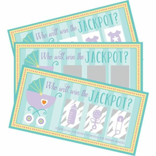 Baby Shower Games Scratch Cards Win a Prize Dares Games Fun
