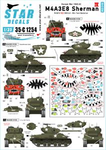 Star-Decals-1-35-M4A3E8-Sherman-4-35-C1254