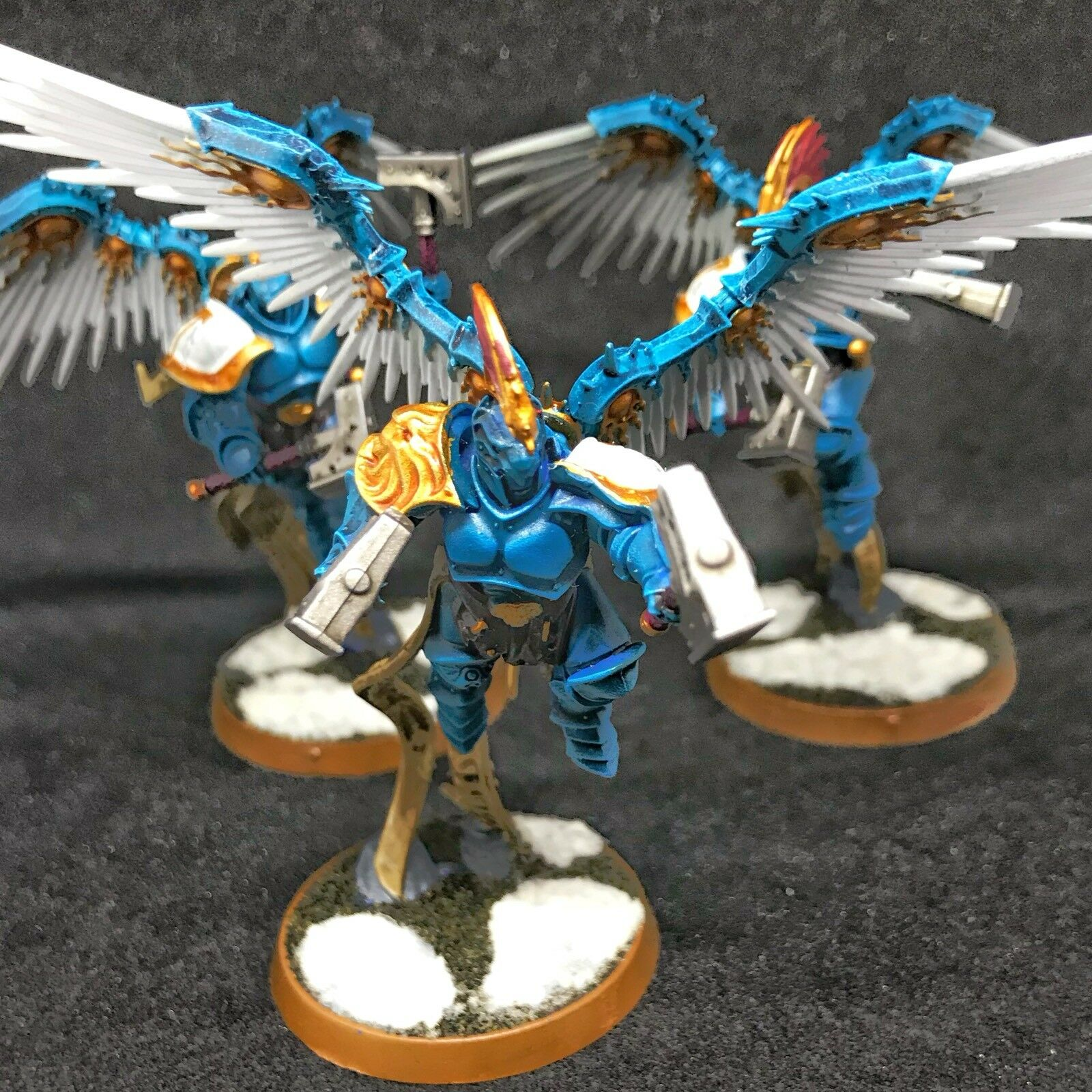 Stormcast Eternals Ppinkcutors X 6 - - Warhammer AoS - Painted to Order