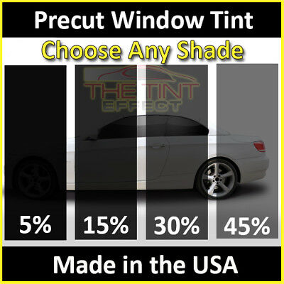 PSSC Pre Cut Front Car Window Films for Peugeot 508 Estate 2011 to 2016 05/% Very Dark Limo Tint