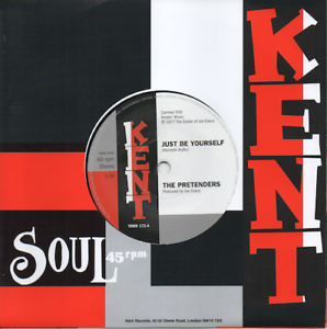THE-PRETENDERS-Just-Be-Yourself-NEW-NORTHERN-SOUL-45-KENT-7-034-VINYL-70s-Listen