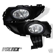 2003-2006 MAZDA 3 4DR OEM FOG LIGHTS LIGHTBAR LIGHT BAR LAMP CLEAR