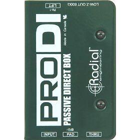 Radial PRO DI - Passive Direct Box - Brand New