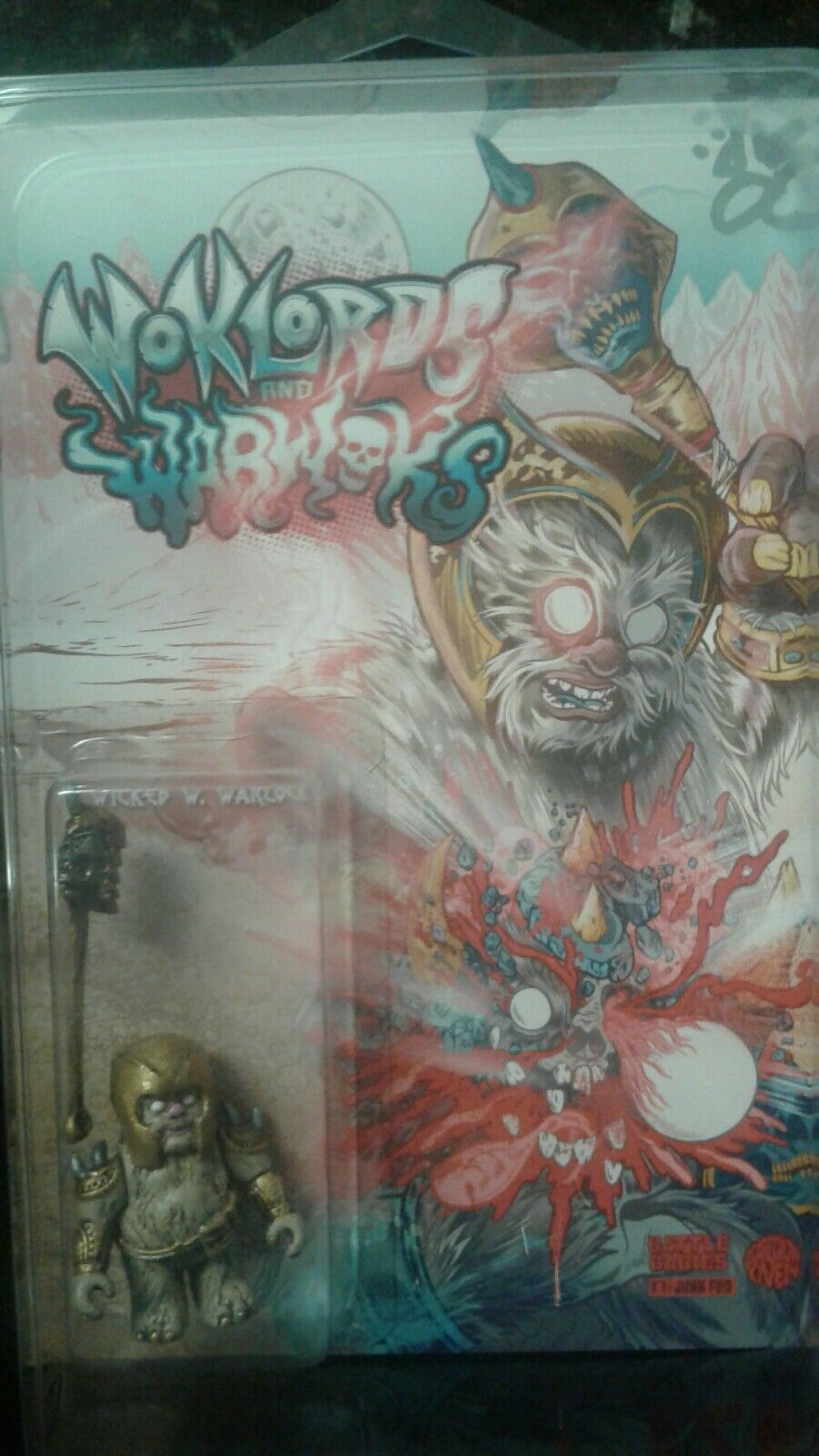 Estrella Wars Ewoks woklords & wabloks KILLER botaleg junkfed DKE sCocheecrowoven Nueva York Comic Con