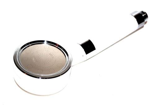 Duschkopf Kopfbrause Duschbrause Brausekopf Wassersparend Weiss Chrome Dusche