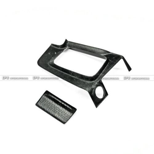 RHD For Nissan GTR R34 Carbon Fiber Gear Surround /& Ashtray Stick On Type Trim