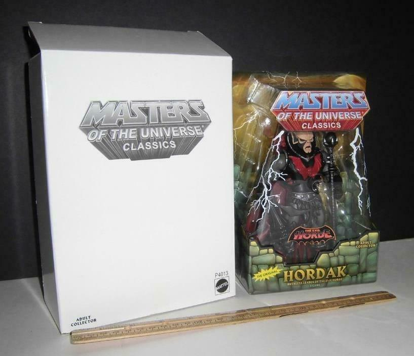 Masters of the Universe classeics  Hordak  Matty Collector   He uomo