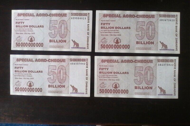 50 Billion Agr0 Cheque Bank Notes
